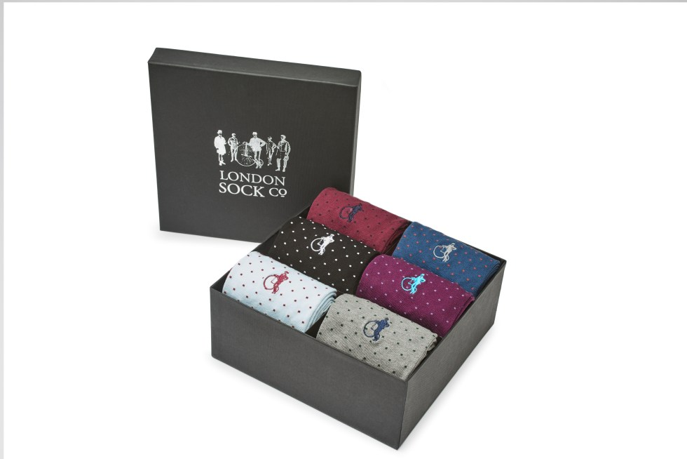 Spot of Style 6-Pair Gift Box, £79
