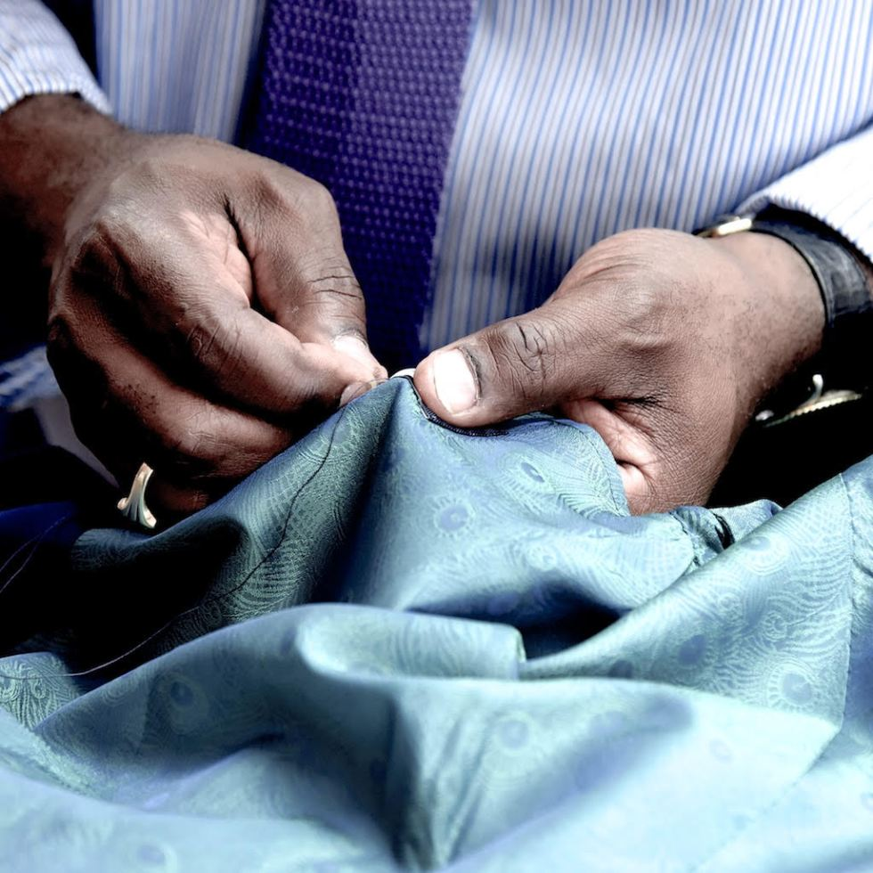 Bespoke Tailoring With Charlie Allen