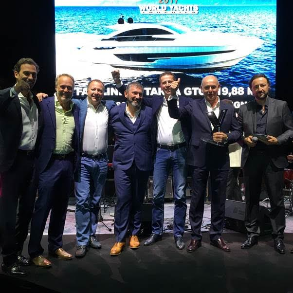 Fairline's Targa 63 GTO Crowned Winner At 2017 World Yachts Trophies  17 September 2017 | Cannes Yachting Festival