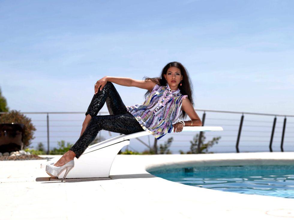 Carolina Guna fashion Cannes