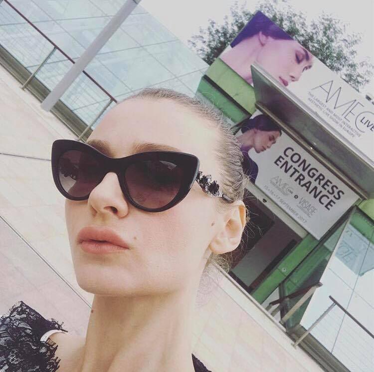 Julia Blanche Hristova Visits The AMEC & Visage Congress In Monte Carlo