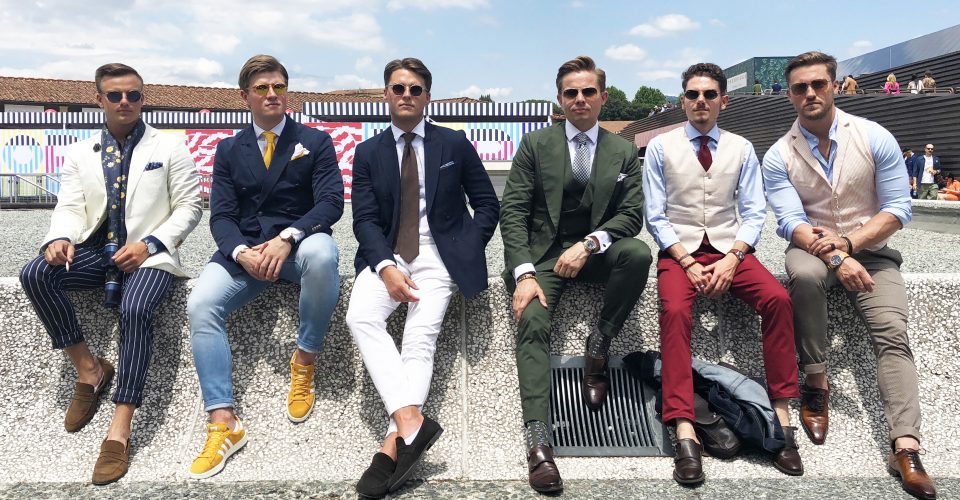 James Visits Pitti Uomo With Charlie Allen Bespoke