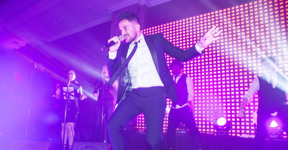 POP PRINCE PETER ANDRE ELECTRIFIES DANCING WITH HEROES