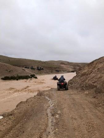 raid  en quad au Maroc