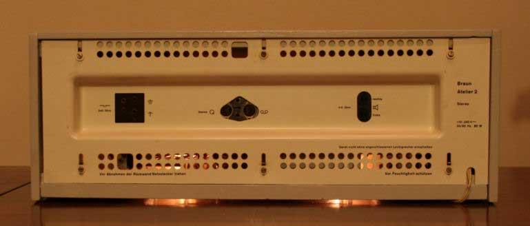 Braun RCS9 Atelier 2