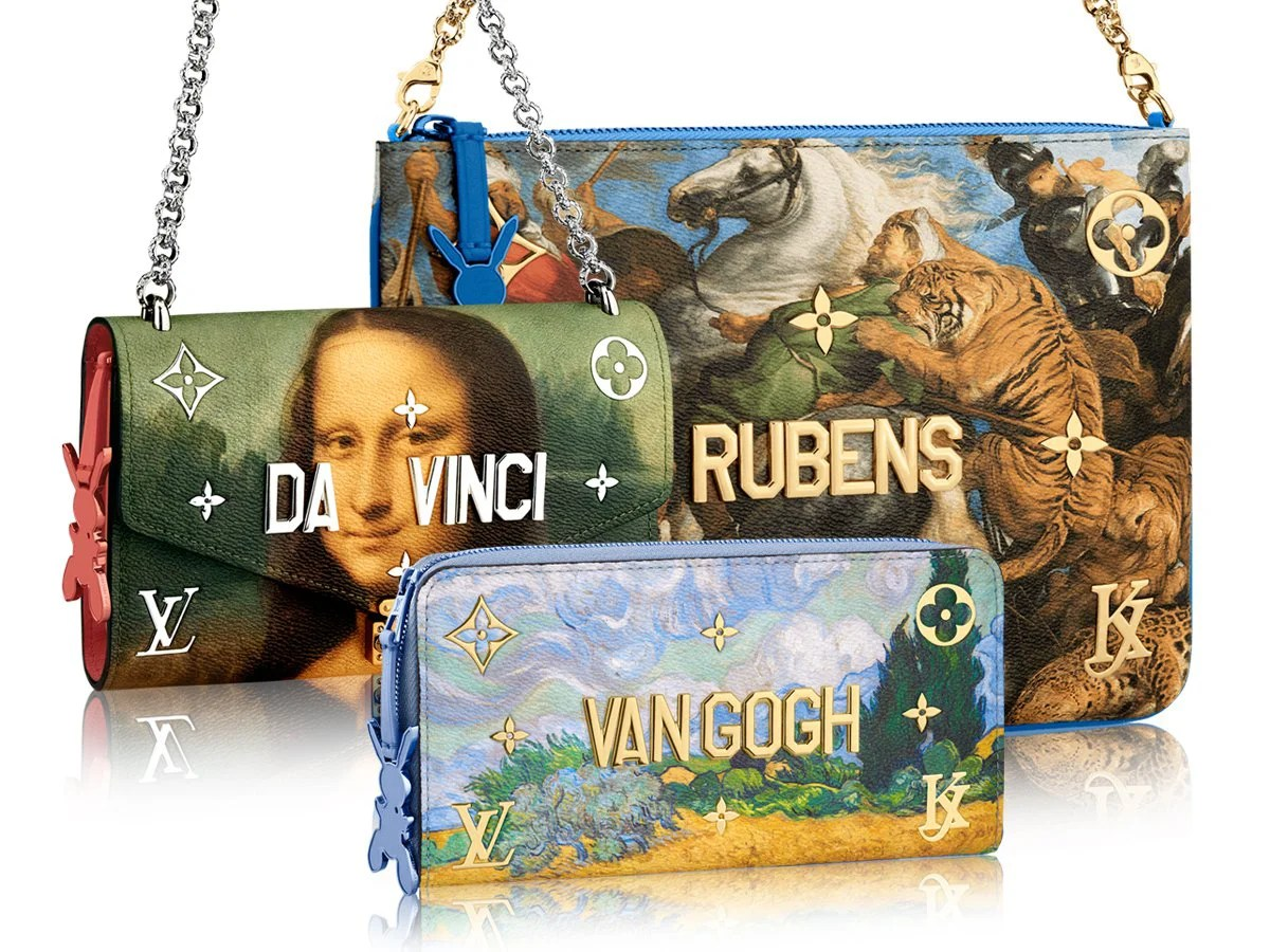 LOUIS VUITTON COLLABORATES WITH JEFF KOONS Luxury Retail