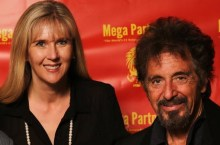 Caroline with Al Pacino