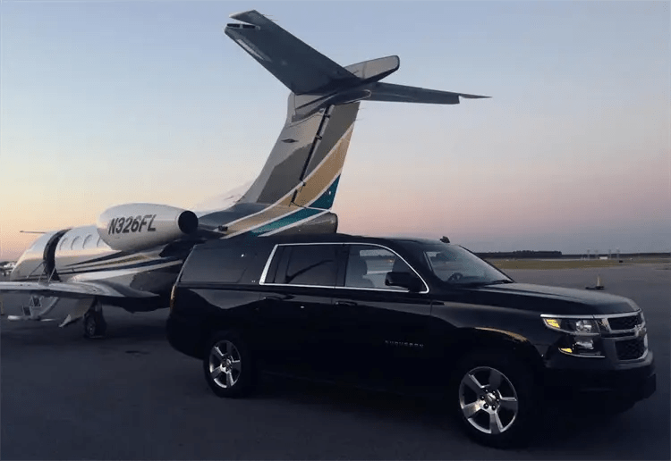 Private Jet Service - Luxury SUV Rides VIP Services