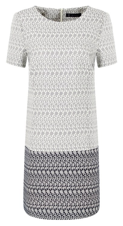 Best Of British - Dot Jacquard Dress