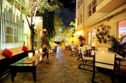The Angler's Hotel **** - Terrasse