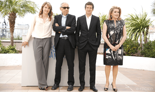 (Hors Compétition//Out Of Competition) Adèle Haenel, André Téchiné, Guillaume Canet, Catherine Deneuve - 21/05 | L'HOMME QU'ON AIMAIT TROP (In the name of my daughter)