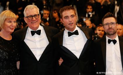 David Linde & Robert Pattinson - 18/05   THE ROVER