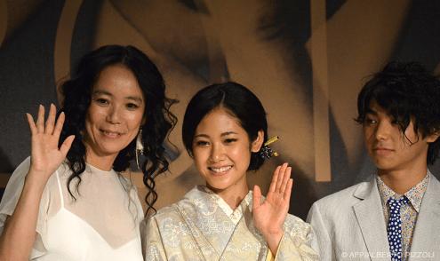 Naomi Kawase, Nijiro Murakami and actress Jun Yoshinaga - 20/05 | FUTATSUME NO MADO (Still the Water)