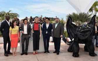 Djimon Hounsou, America Ferrera, Kit Harington, Cate Blanchett, Jay Baruchel and Dean Deblois - 16/05 | HOW TO TRAIN YOUR DRAGON 2