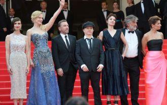 """Cannes 2014 - La montée des marches de """"Grace de Monaco"""" Toute l'équipe du film """"Grace de Monaco"""" Photo : SIPA"""