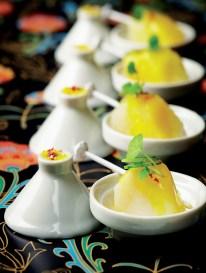 Mini Tajine de Lotte cuisinée au citron et pousse de réglisse (Produit Réception)