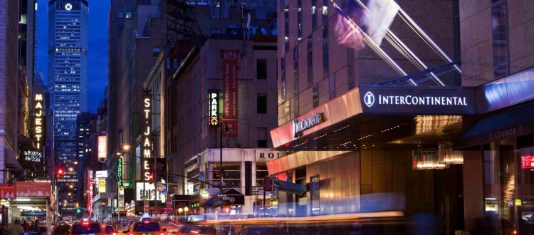 Intercontinental Times Square On Sale
