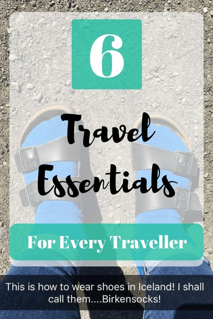 6 Travel Essentials - The Traveller's Guide By #ljojlo