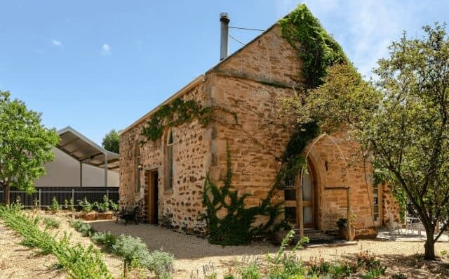 Outside of the Chapel - Airbnb Barossa Valley - Luxury Travel Hacks