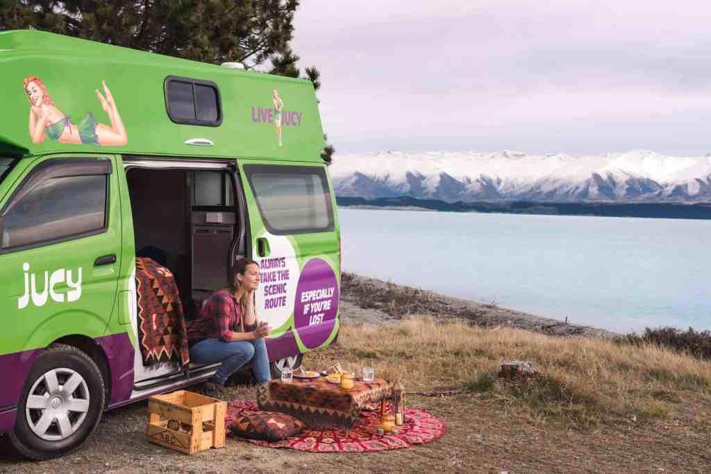 Jucy NZ - Campervan Hire New Zealand - Luxury Travel Hacks