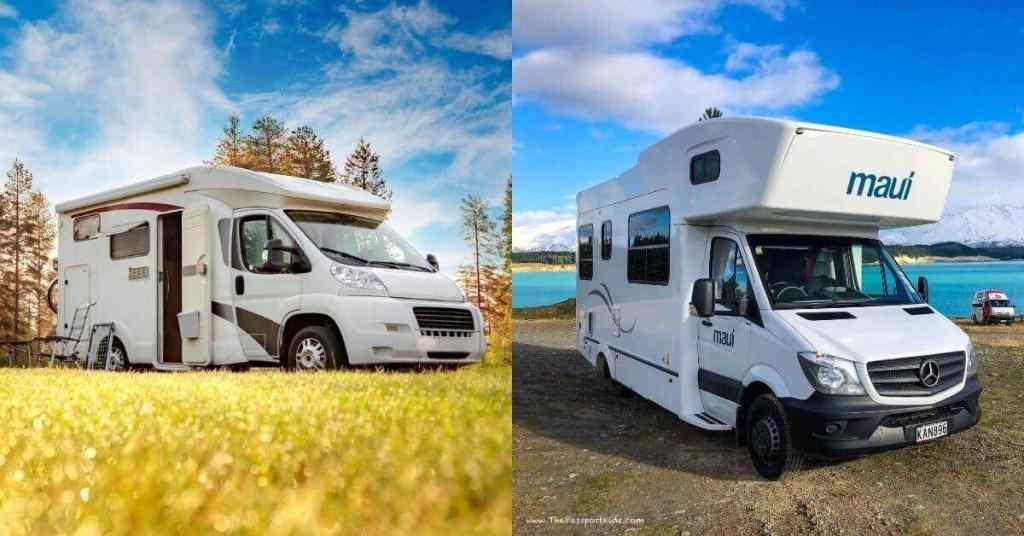 Motorhome Examples - Motorhome & Campervan Hire - New Zealand - Luxury Travel Hacks