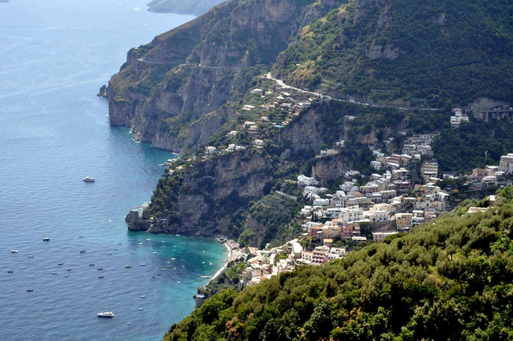 View of Positano - The Almafi Coast - Best European Road Trips - Luxury Travel Hacks.jpeg