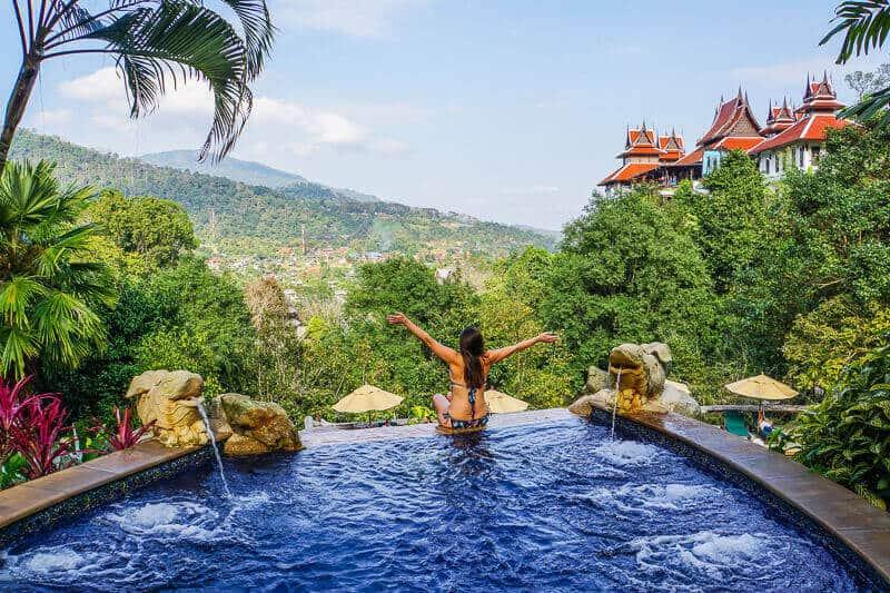 Valentine's Breaks - Pool at Panviman Chiang Mai Spa Resort