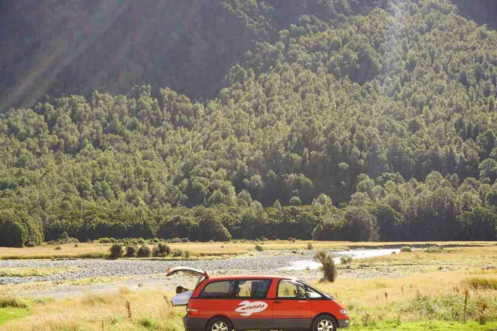 Spaceships Rocket - Campervan Hire New Zealand - Luxury Travel Hacks