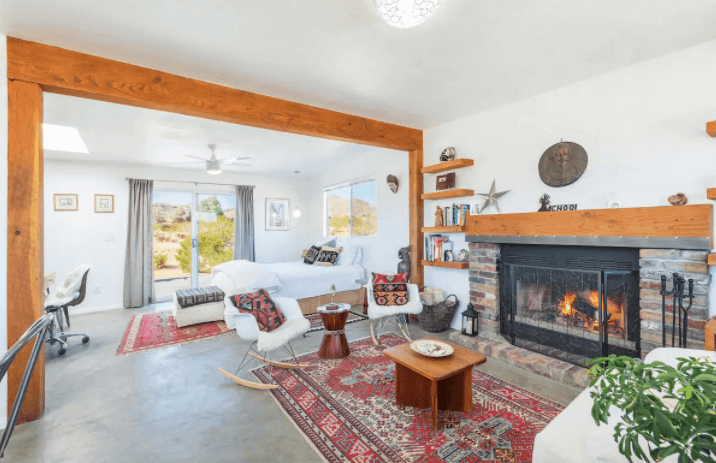 The Raven House - Renovated Homestead Cabin - Best Airbnbs in Joshua Tree - Luxury Travel Hacks