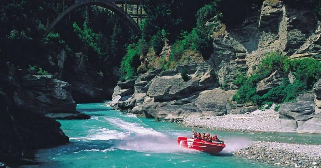 Jet Boating - Work Abroad New Zealand - Luxury Travel Hacks