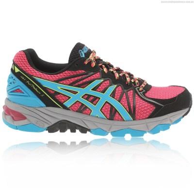 trail running shoes pink
