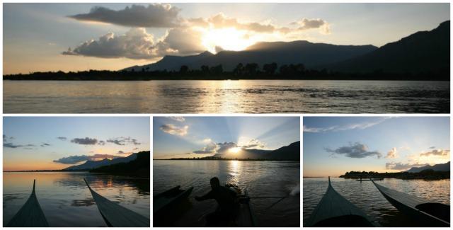 sunset cruise river resort champasak laos