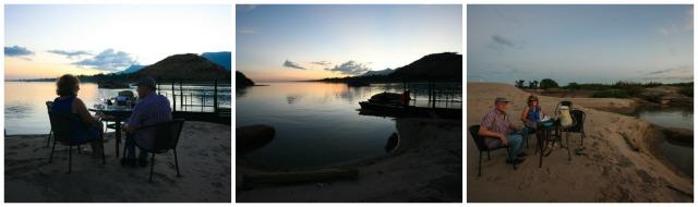 sunset south laos luxury