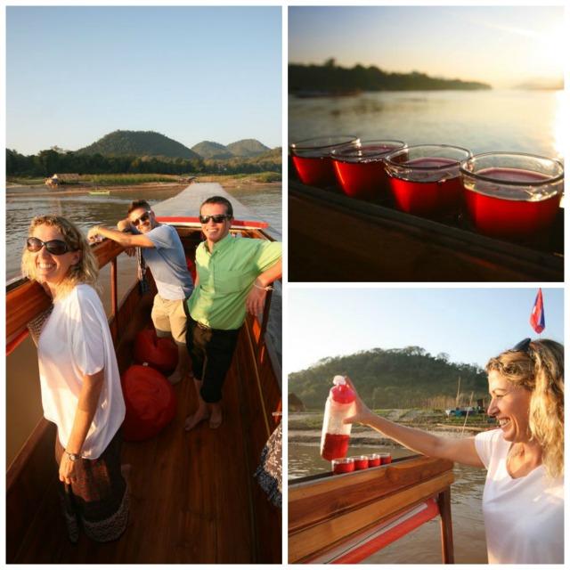 boat cruise luang prabang