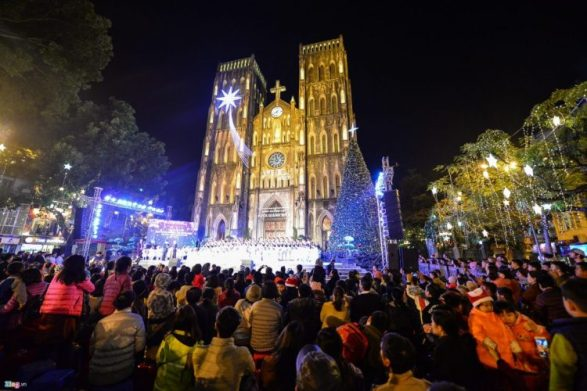 St. Joseph's Cathedral - Best place to celebrate Christmas in Hanoi, Vietnam