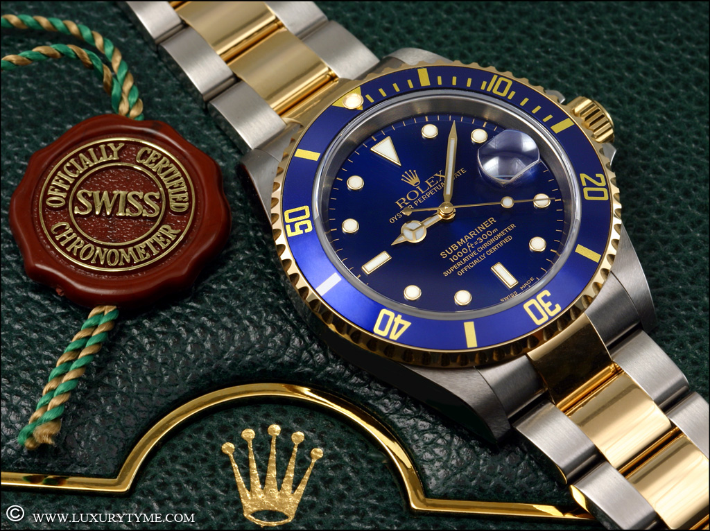 Comparative Review The Rolex Submariner 16613 Vs The
