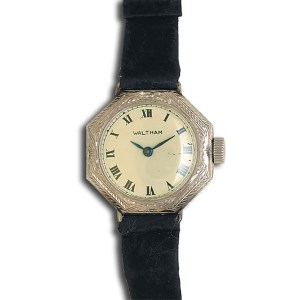 Waltham Classic 14k white gold mm  watch