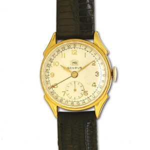 Benrus Classic gold fill & stainless steel mm  watch