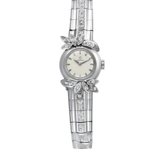 Omega Cocktail 18k white gold 17mm Manual watch