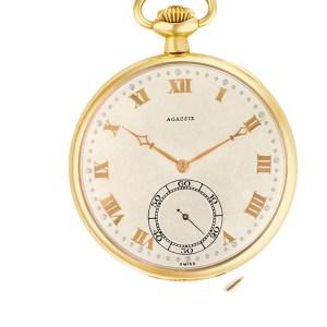 Agassiz pocket watch 246181 14k 44mm Manual watch