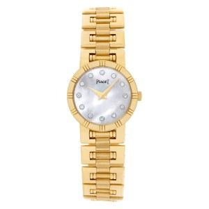 Piaget Dancer 80563K81 18k Mother of Pearl dial 23mm Quartz watch