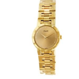 Piaget Dancer 80563k81 18k Gold dial 23mm Quartz watch