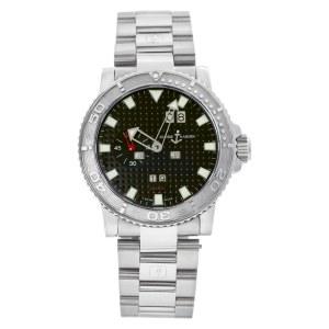Ulysse Nardin Perpetual Calendar 333-88-3/92 Stainless Steel Black dial 43mm Aut