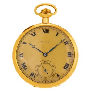 Waltham Classic 337299 14k Gold dial 45mm Manual watch