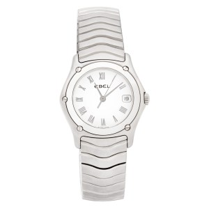 Ebel Classic Wave 9087F21 stainless steel 27mm Quartz watch