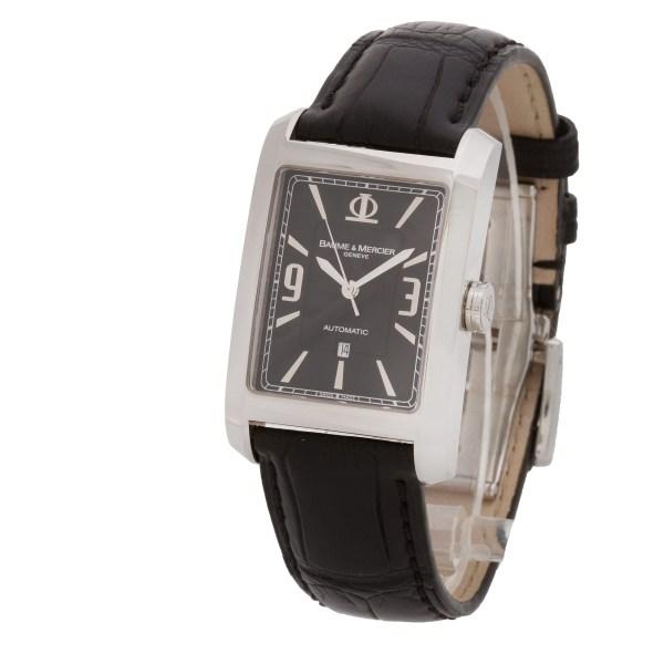 Baume & Mercier Hampton 5353107 stainless steel 27mm auto watch
