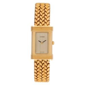 O.J Perrin Paris watch in 18k 0104 18k Gold dial mm Quartz watch