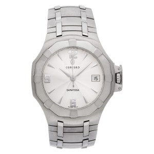 Concord Saratoga 14.c2.1894 stainless steel 37mm Quartz watch