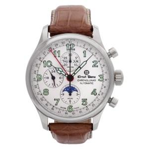 Ernst Benz Chronolunar GC40312a Stainless Steel Cream dial 44mm Automatic watch