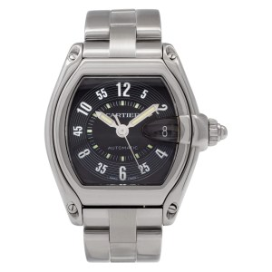 Cartier Roadster W62004V3 Stainless Steel Black dial 38mm Automatic watch